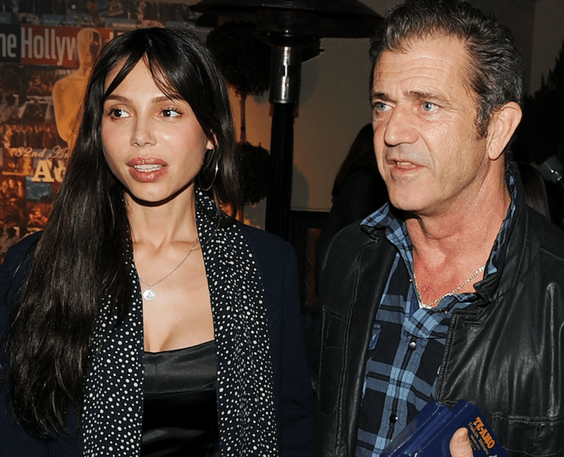 Mel Gibson threatened his girlfriend and their disputes led to legal actions.