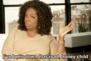 The Ups and Downs of Oprah's Weight Loss Journey, and What She Swears By