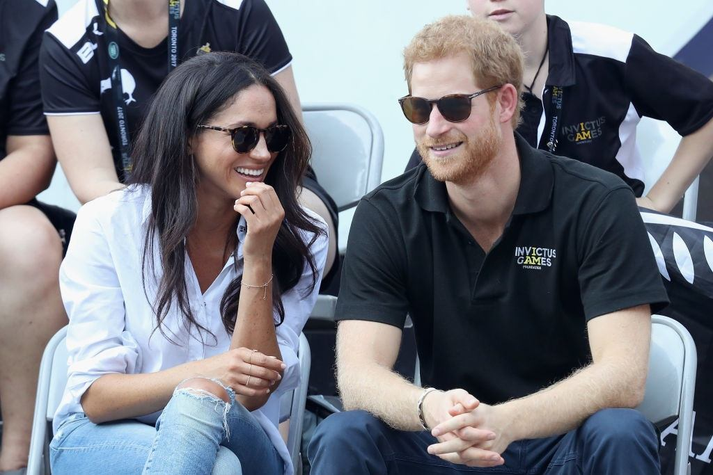 Prince Harry and Meghan Markle at Invictus Games
