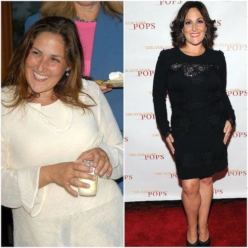 Ricki Lake collage.