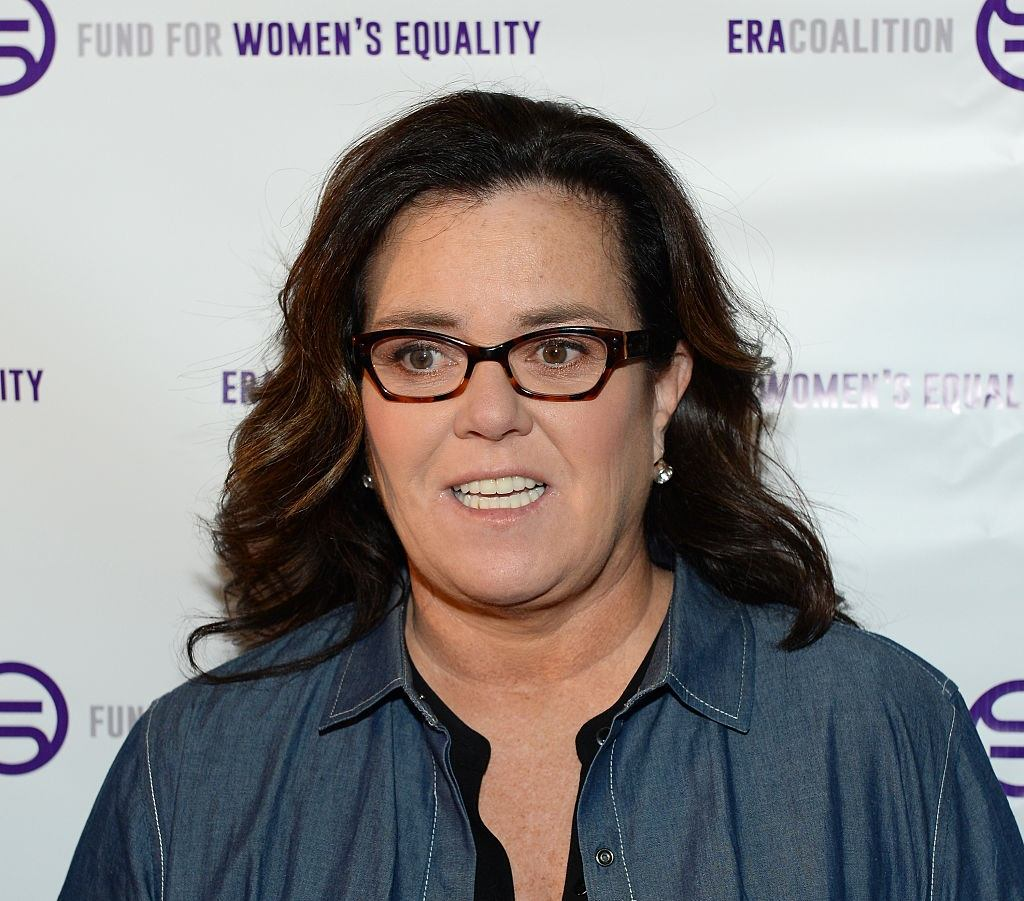 Rosie O'Donnell in New York City