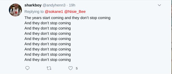 another smashmouth tweet