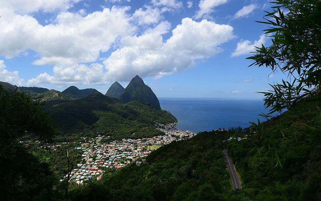 St. Lucia island