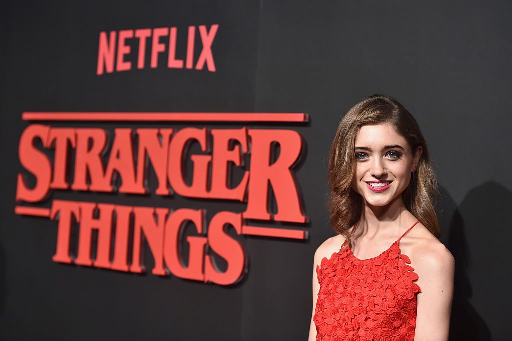 "Actress Natalia Dyer of ""Stranger Things"""