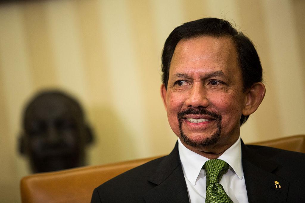 Sultan Haji Hassanal Bolkiah of Brunei