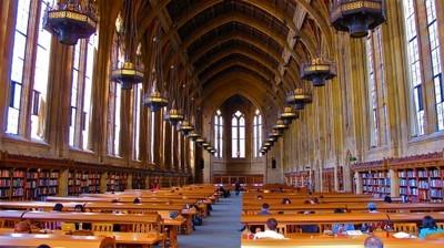 Suzzallo Library at the University of Washington