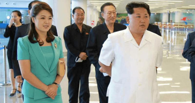 Ri and Kim Jong Un