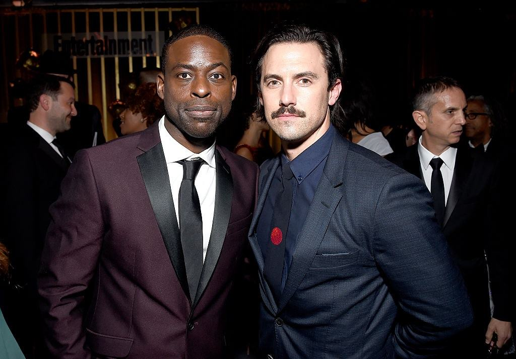 Sterling K. Brown and Milo Ventimiglia
