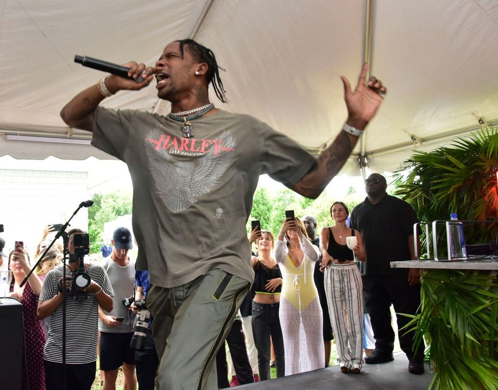 Travis Scott performs