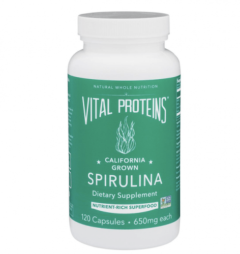 A bottle of Vital Proteins Diet Supplement