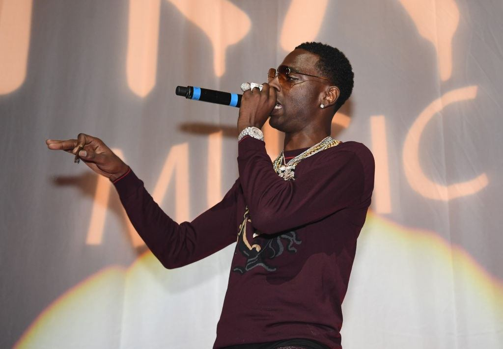 Young Dolph performs