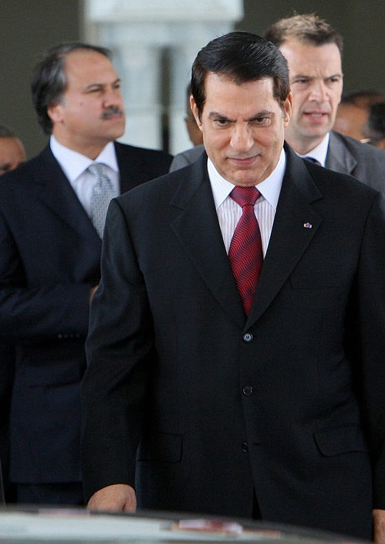 Former president of Tunisia