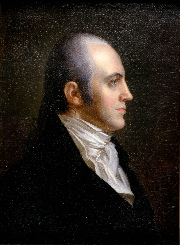 Aaron Burr Portrait