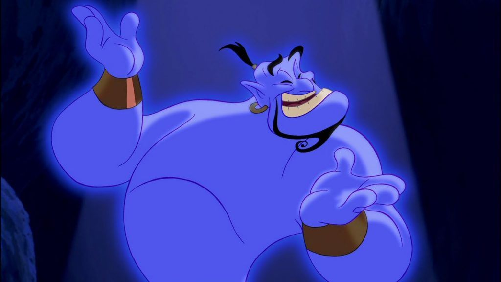 The Genie in Aladdin