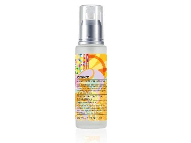 Amika heat protection serum