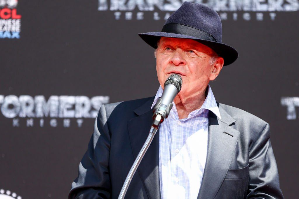 Anthony Hopkins in 2017