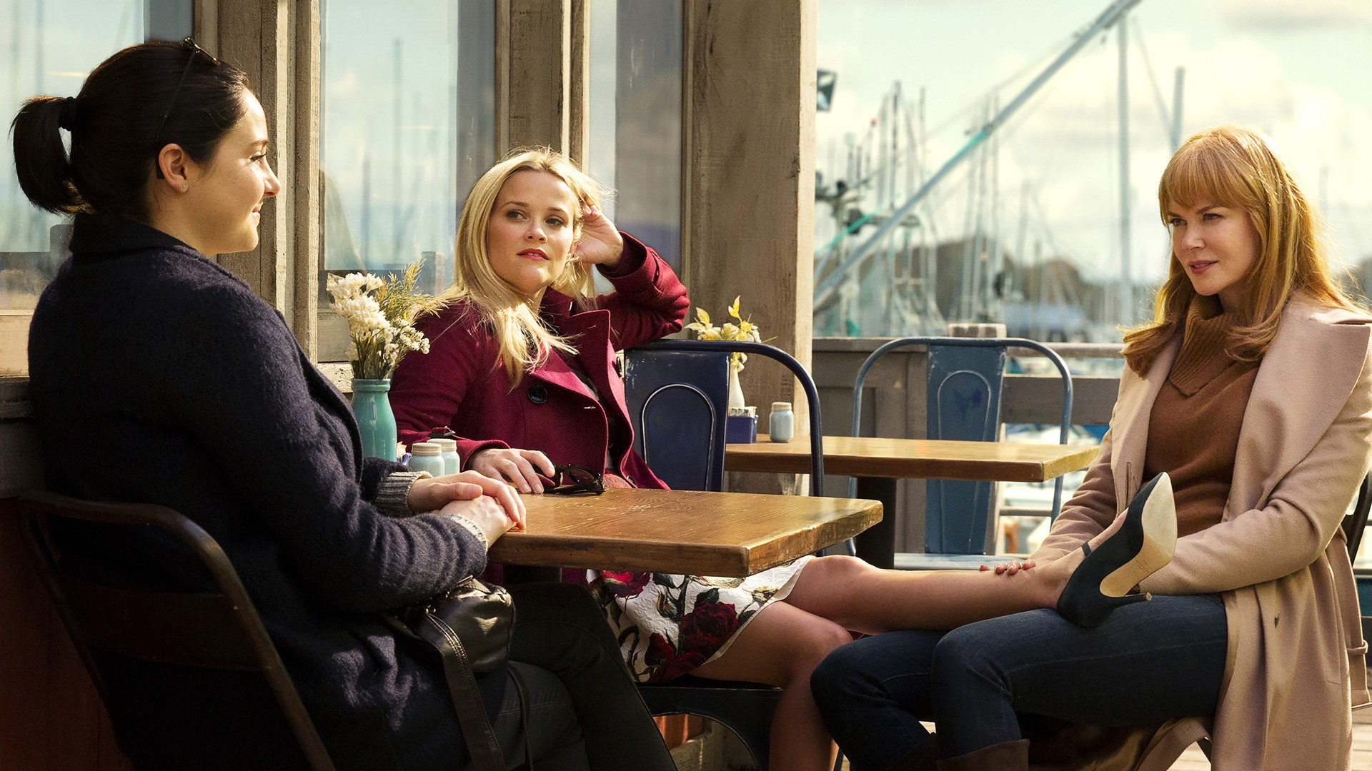 Reese Witherspoon, Nicole Kidman, and Shailene Woodley in 'Big Little Lies.'