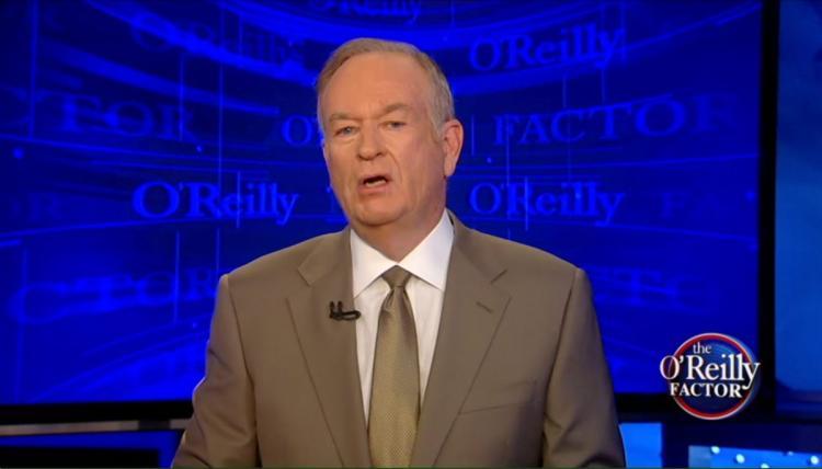 Bill O'Reilly on The O'Reilly Factor