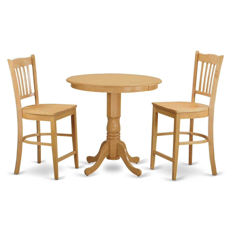 Blonde wood dining set