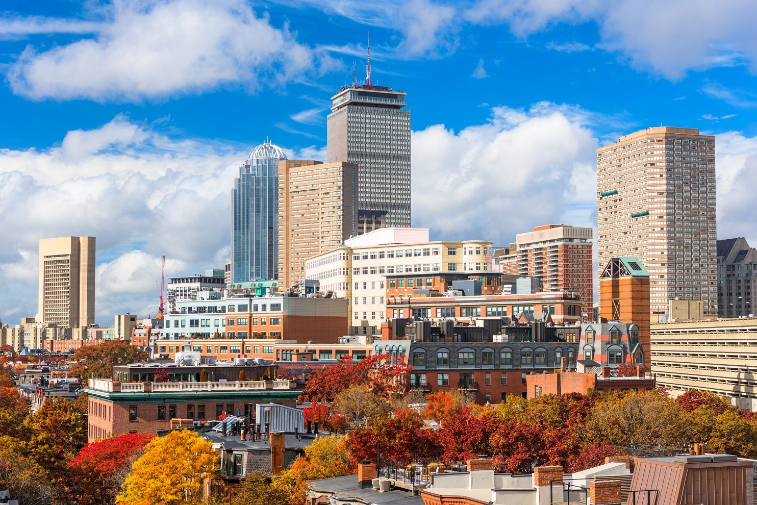 Boston in the fall