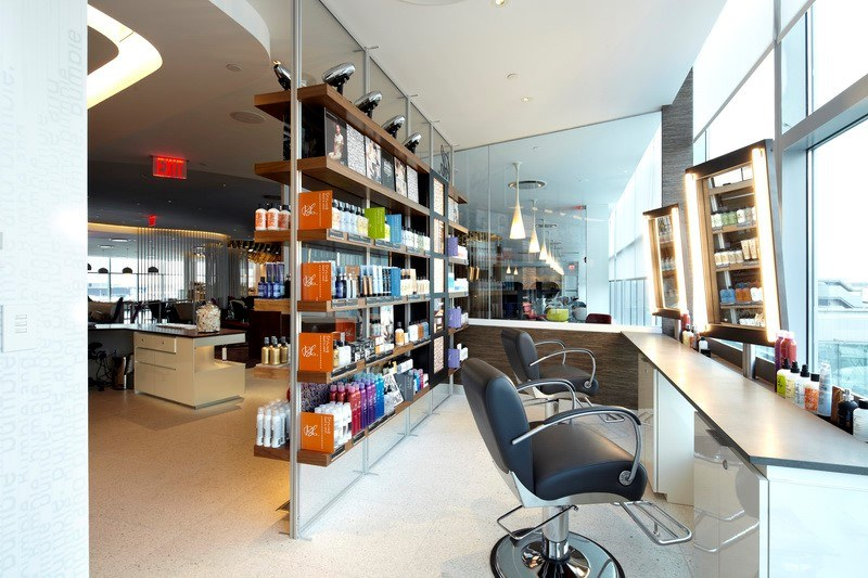 Salon JFK Virgin America