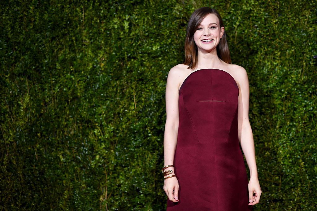 Carey Mulligan attends the 2015 Tony Awards