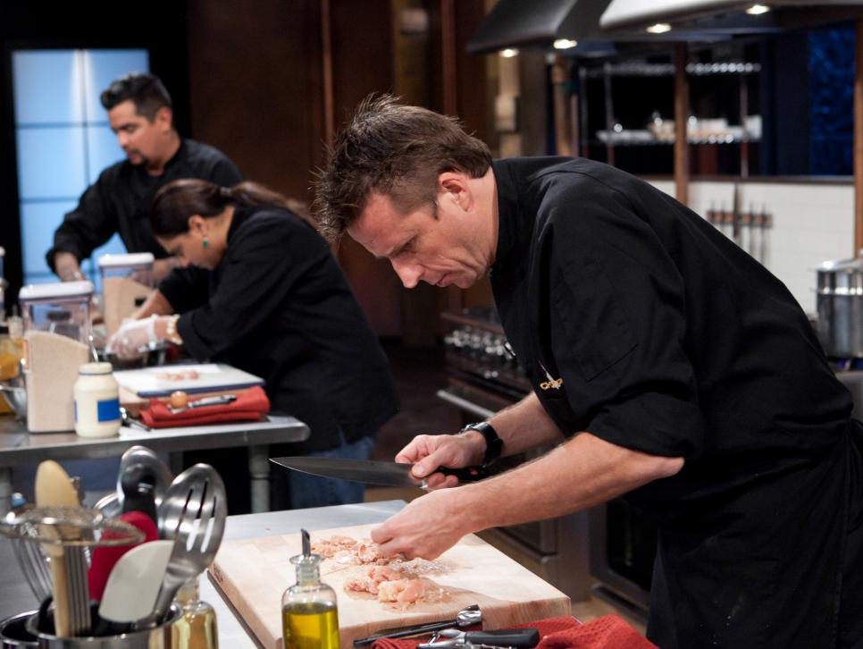 Chopped judges are contestants on the show