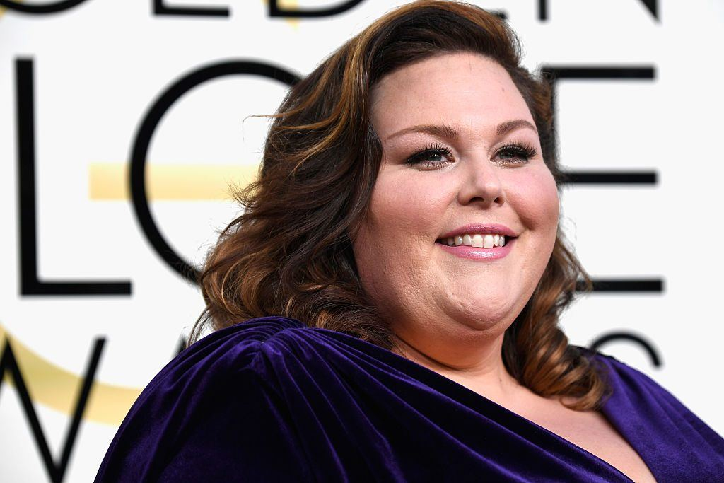 Chrissy Metz at the Golden Globe Awards
