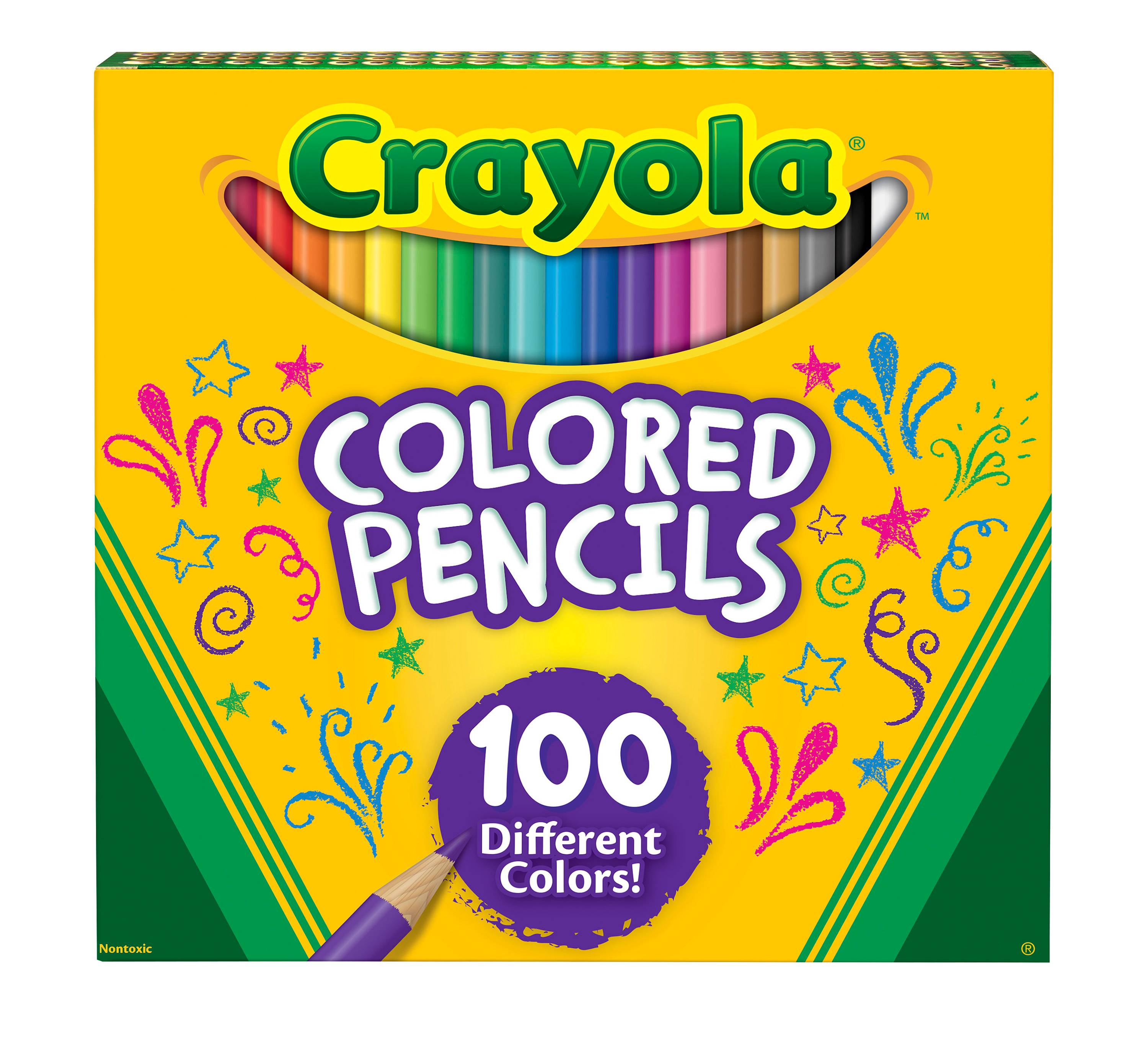 Target 100 pack of colored pencils