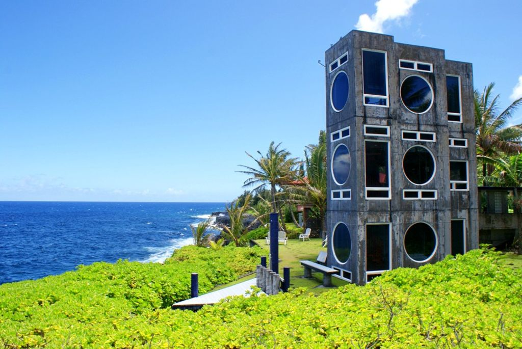 Concrete boombox homeaway