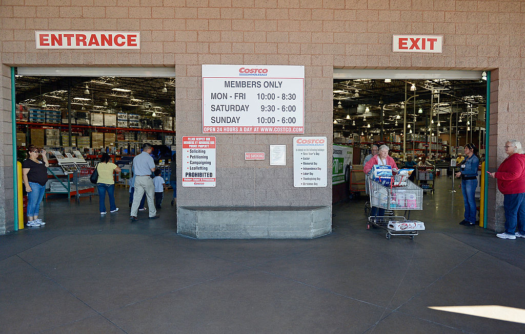 Costco front entrance