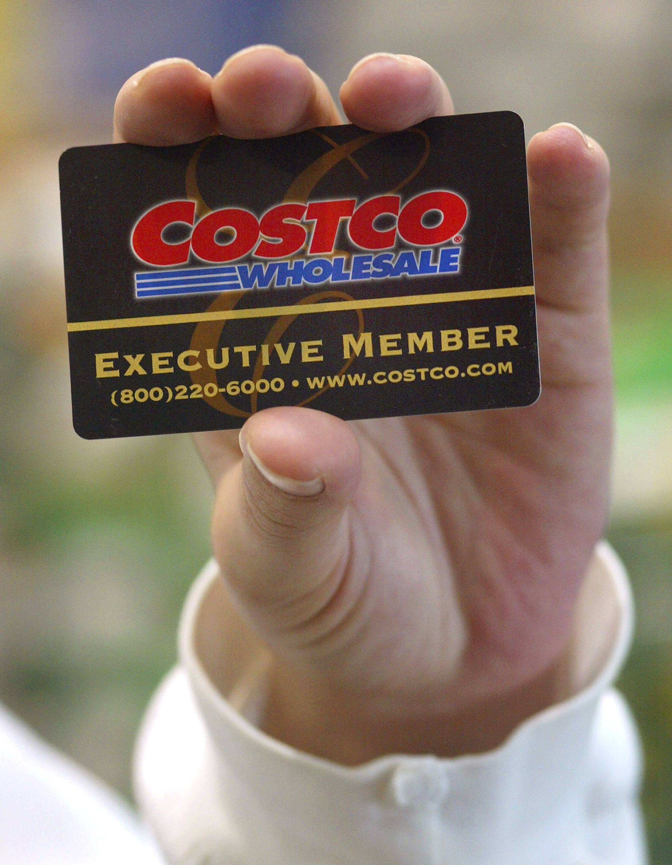 Costco membership card