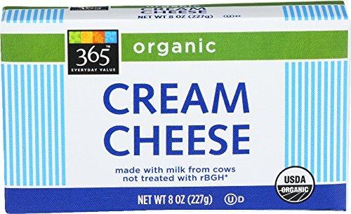 Organic cream cheese