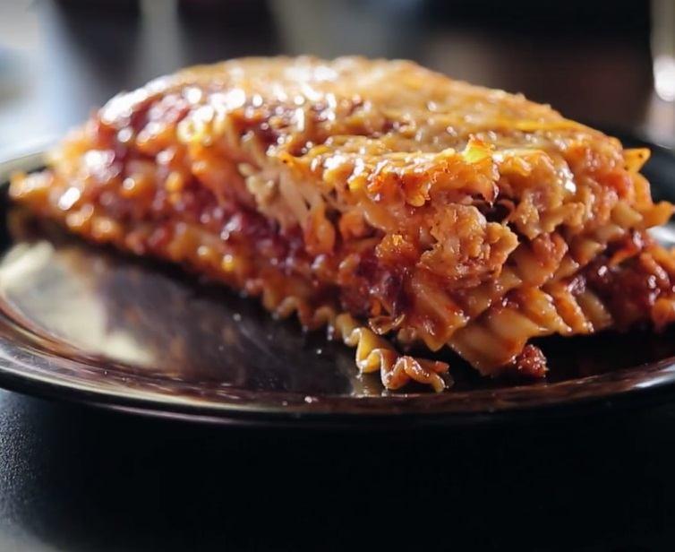 BBQ lasagna DDD