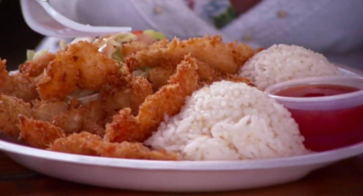 Crunchy shrimp ddd