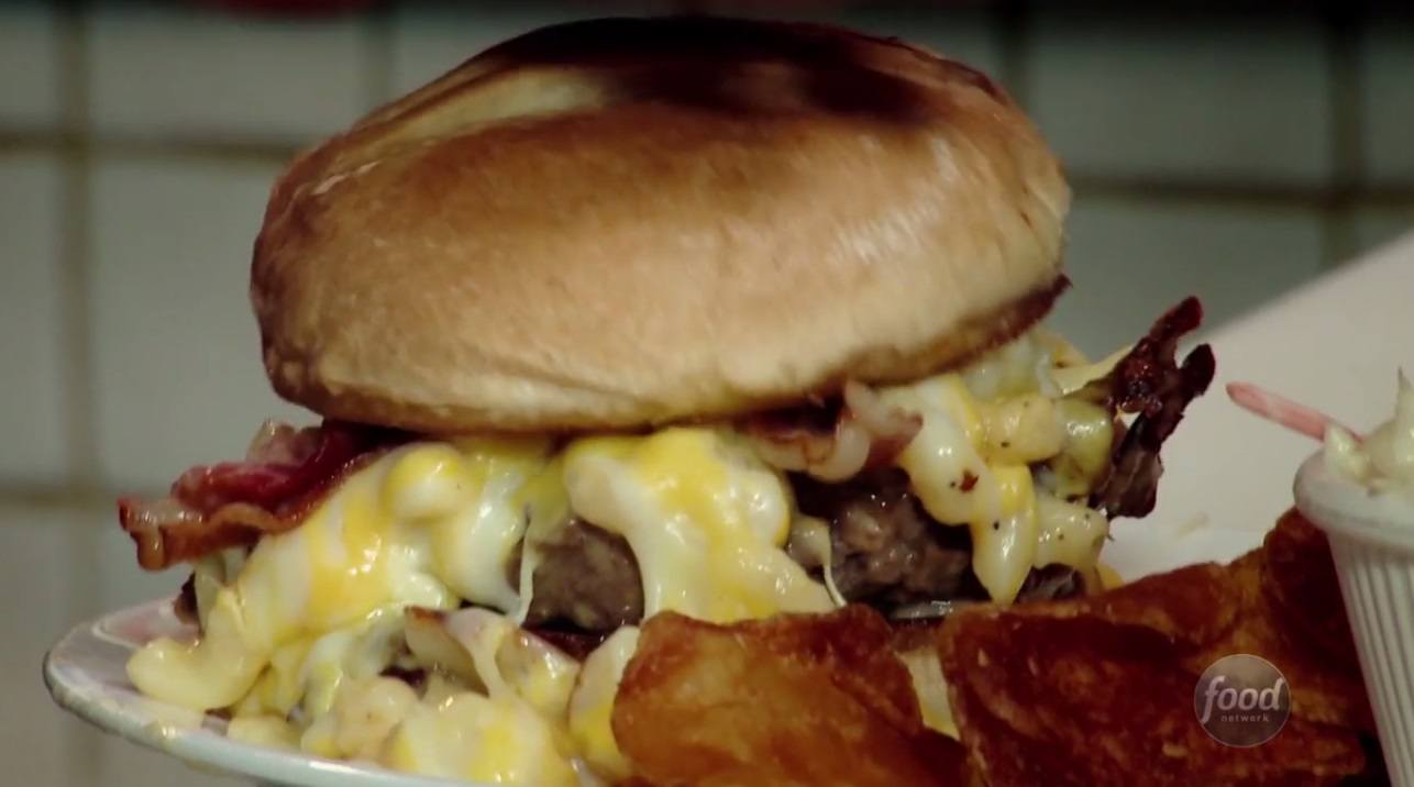 Mac Attack burger