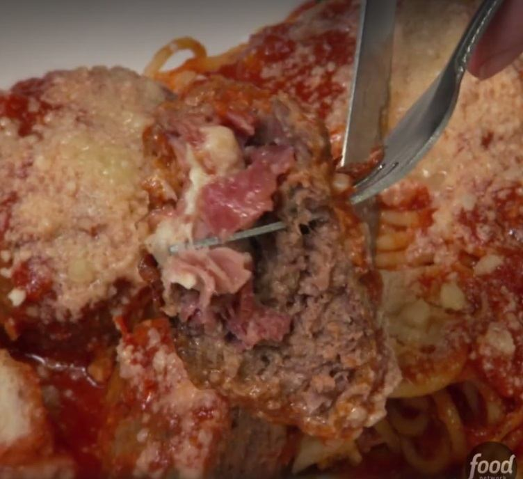 DDD stuffed meatballs