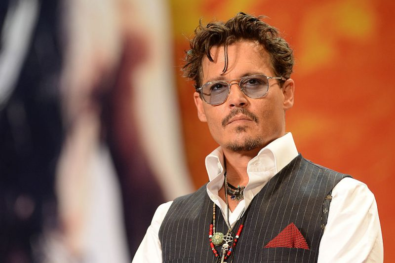 Johnny Depp in 2013