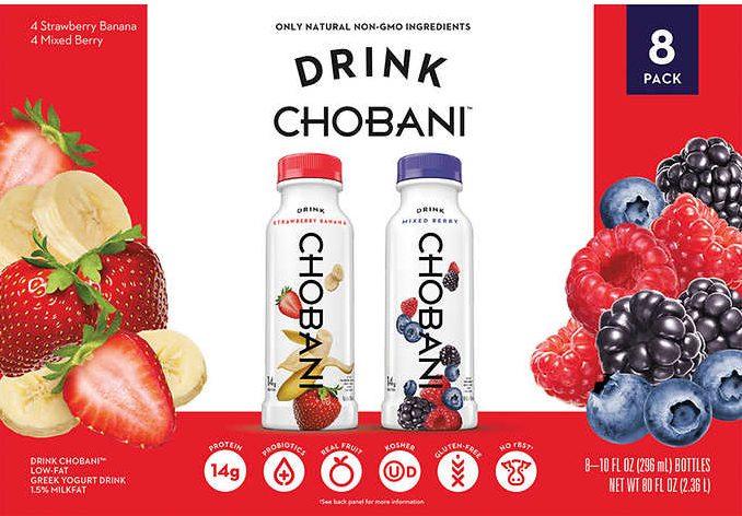 Chobani drinkable yogurt