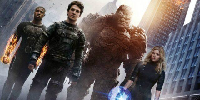 The 2015 reboot of 'Fantastic Four poster.