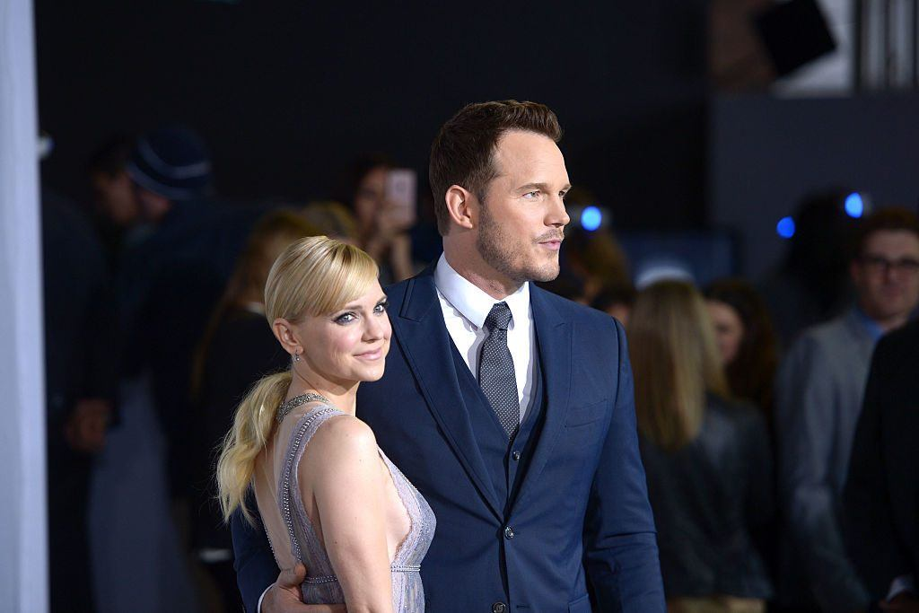 Anna Faris and Chris Pratt in 2016