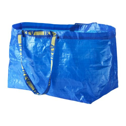 Ikea large blue shopping bag