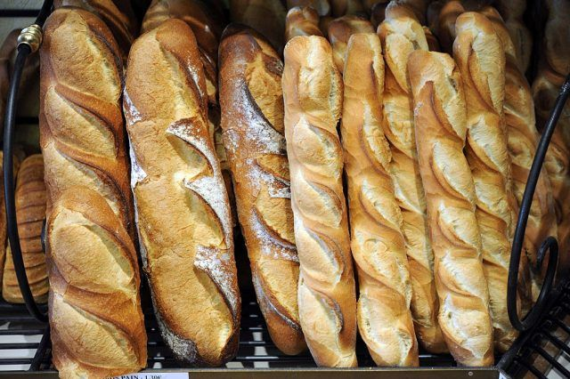 French bread loaves