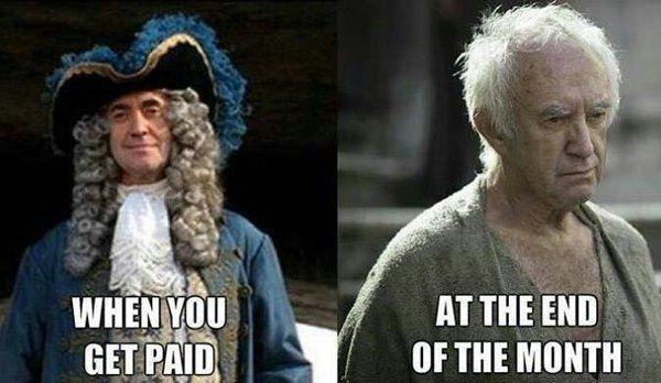 Jonathan Pryce in Pirates of the Caribbean and Jonathan Pryce in Game of Thrones