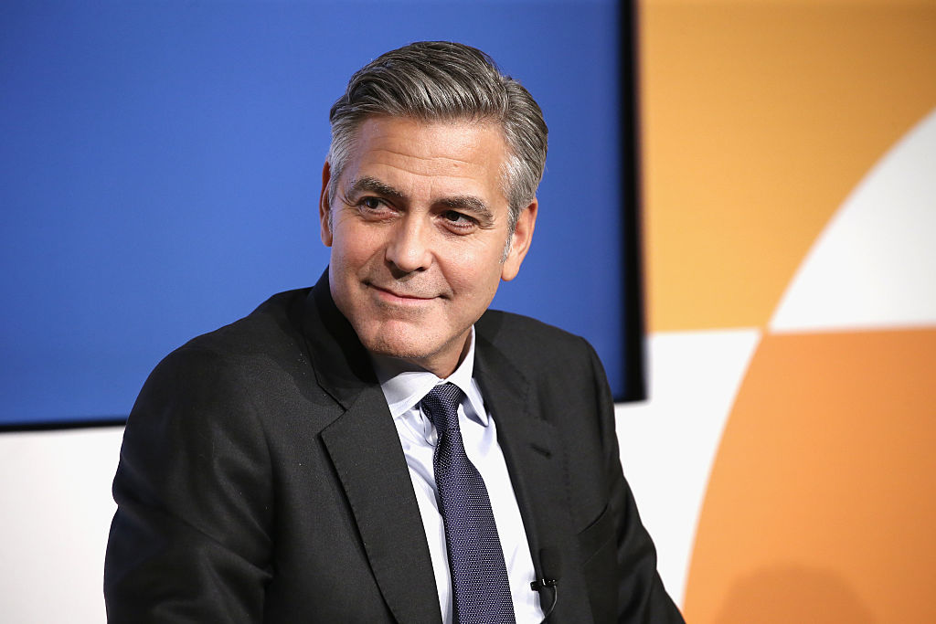 George Clooney in 2015