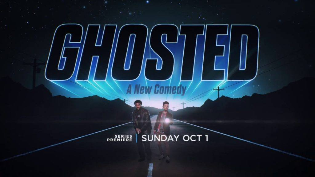 Adam Scott and Craig Robinson in Ghosted