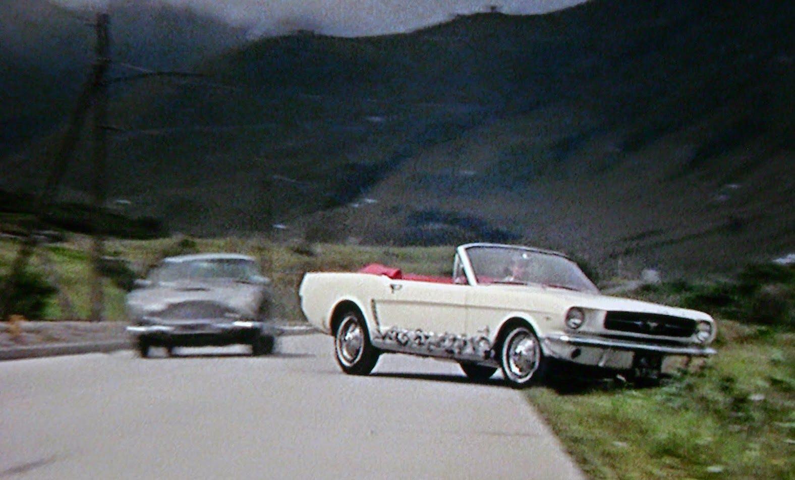 Goldfinger car chase