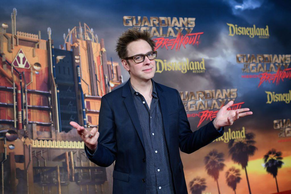 James Gunn at the opening of the Guardians of The Galaxy – Mission: BREAKOUT! ride