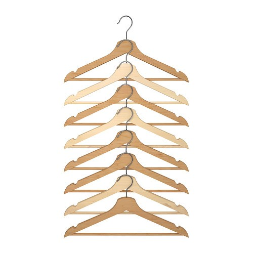 Ikea clothing hangers