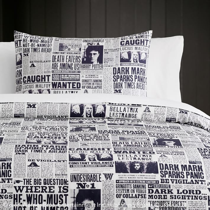 daily prophet duvet cover